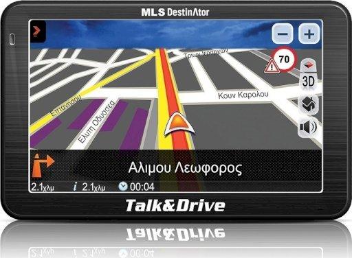 Destinator Talk&Drive 510Μ GR+CY maps