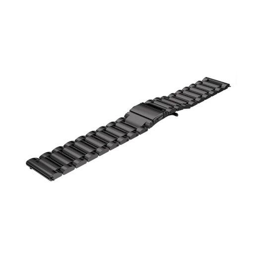 Ανταλλακτικό λουράκι για το Xiaomi Amazfit Stainless steel 22mm Black