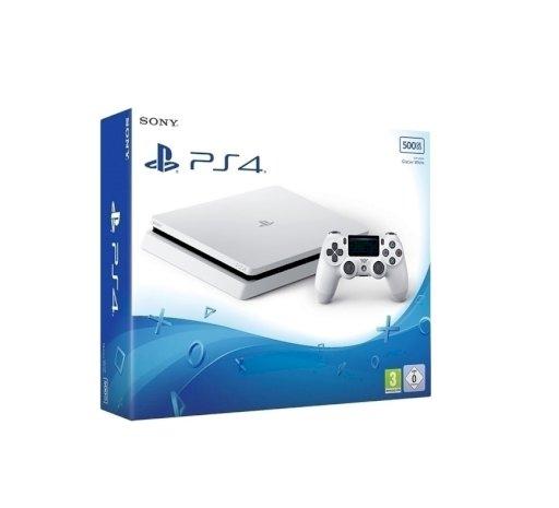 Sony Playstation 4 Glacier White (PS4) Slim 500GB
