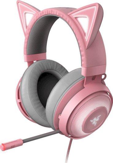 Razer Kraken Kitty - Chroma RGB USB Headset - THX Audio - Quartz [RZ04-02980200-R3M1]