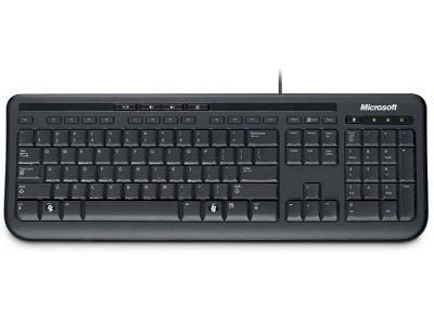 Microsoft Wired Keyboard 600 GR - Keyboard - Μαύρο