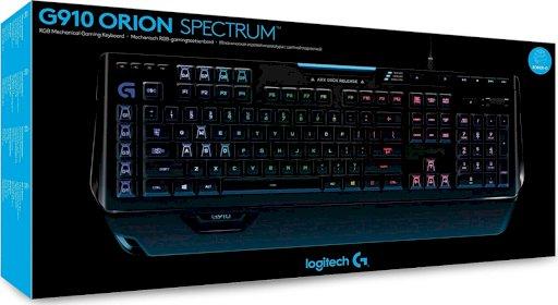G910 orion Spectrum RGB mechanical Keyboard(920-008017)UK