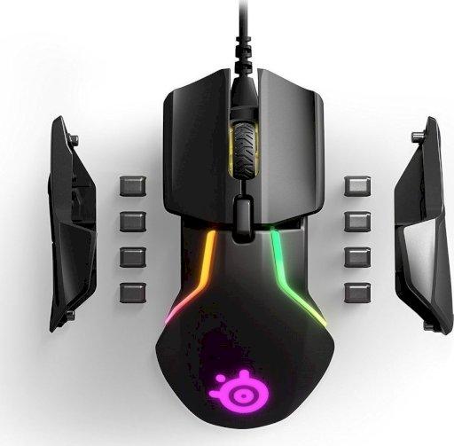 Rival 600 mice USB Optical 12000 DPI black