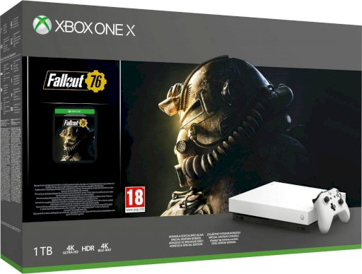 Xbox One X robot white incl. Fallout 76 USK 18
