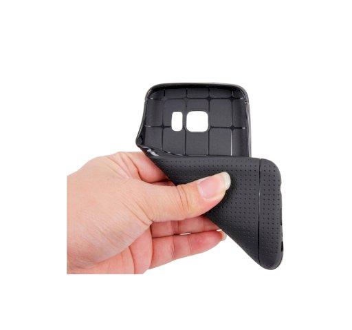 Θηκη για Samsung Galaxy S7 G930 Honeycomb Surface TPU Protective Case (Black)