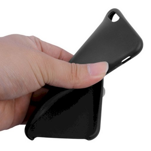 Θηκη Σιλικονης Iphone 6-6s Μαυρη