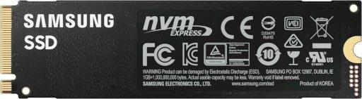 Samsung 980 Pro 500GB (MZ-V8P500BW)