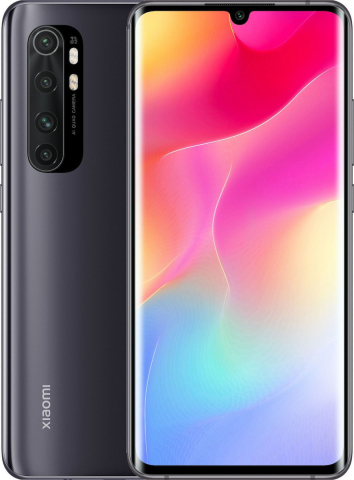 XIAOMI MI NOTE 10 LITE 6GB-128 GB DUAL SIM BLACK(GLOBAL VERSION-M2002F4LG) EU