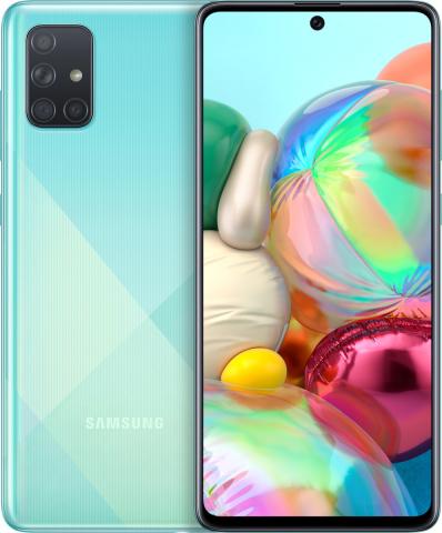 Samsung Galaxy A71 A715 Dual Sim (6GB-128GB) Blue EU