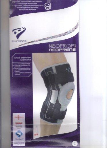 Σταθεροποιητής γόνατος NEOPRENE ενισχυμένος με μεταλλικές ράβδους και ελατήρια Diamond RUCANOR