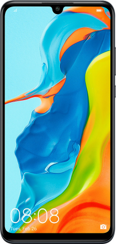 Huawei P30 Lite Dual (128GB-4GB) Midnight Black