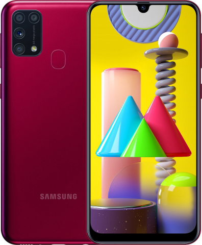 Samsung Galaxy M31 (6GB-64GB) SM-M315FDSN Red