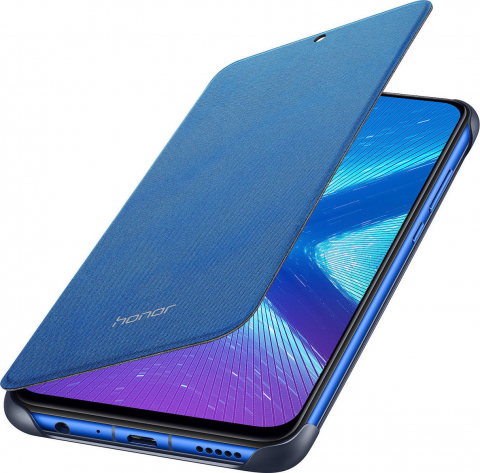 HONOR ORIGINAL FLIP COVER Blue FOR HONOR 8X (51992770)