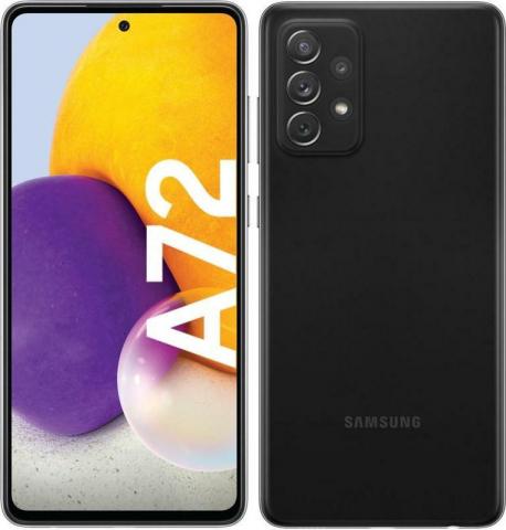 Galaxy A72 4G (128GB)Dual Awesome Black SM-A725FDS