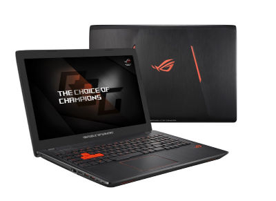"ROG GL553VE-FY052T - Laptop - Intel Core i7-7700HQ 2.8 GHz - 15.6"" Full HD LED - Windows 10 Home"