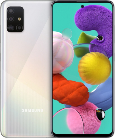 GALAXY A51 A515 DUAL 4GB-128GB EU Prism Crush White