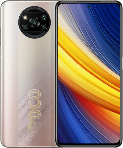 POCO X3 PRO DUAL SIM (128GB- 6GB RAM) METAL BRONZE M2102J20SG GLOBAL