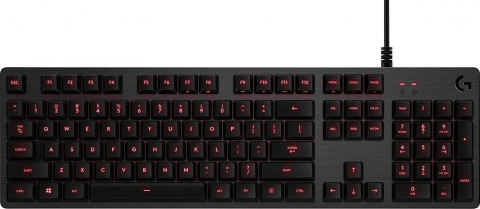 G413 Mechanical Gaming Keyboard Carbon RED