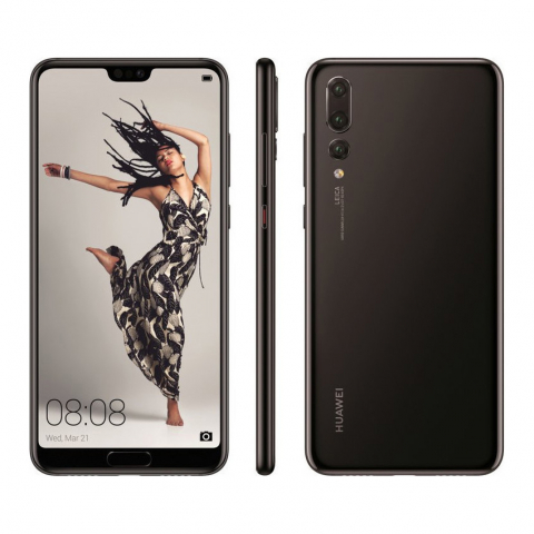 P20 Pro 128GB Single Sim Black EU
