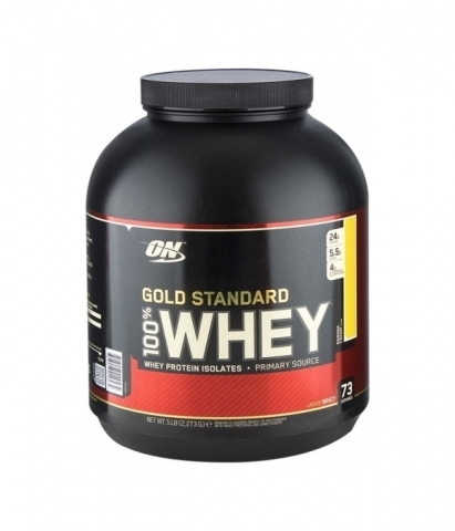 ON 100% Whey Gold Standard 2273gr French Vanilla Cream