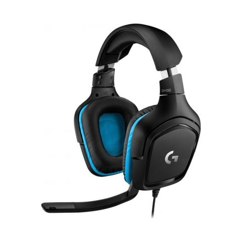 G432 7.1 Surround Sound Gaming Headset (981-000770)