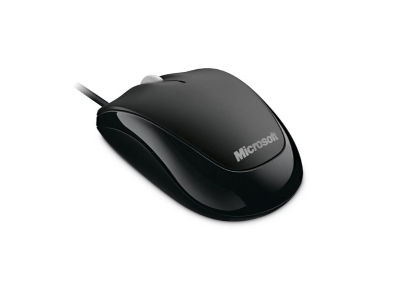 Microsoft Compact Optical Mouse 500 for Business - Ενσύρματο ποντίκι - Μαύρο