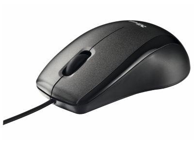 TRUST CARVE - USB Optical Mouse - Μαύρο