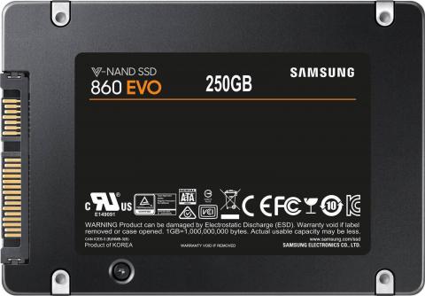 860 EVO 250 GB Sata3 MZ-76E250BEU