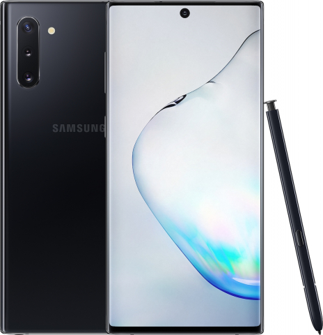 Samsung Galaxy Note 10 N970 256GB-8GB Dual Sim Black EU