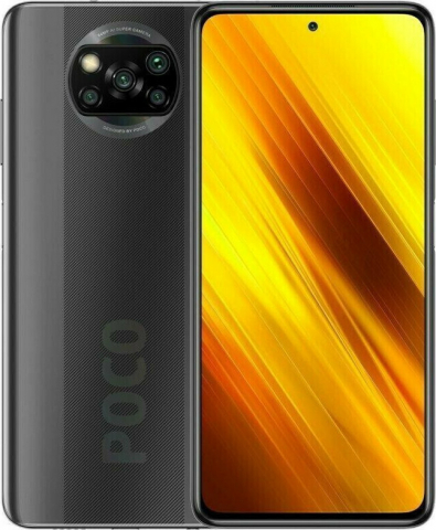 Xiaomi Poco X3 NFC (128GB-6GB) Shadow Gray EU(M2007J20CG)