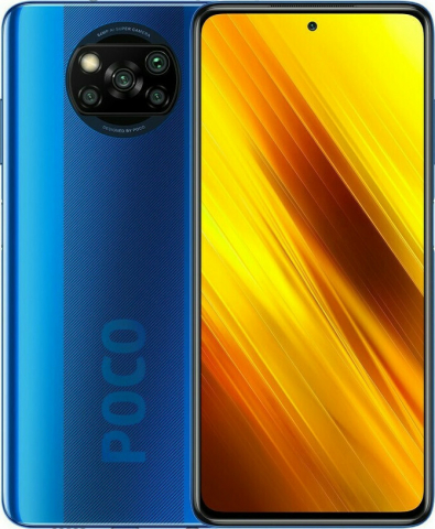 POCO X3 NFC 6GB-64GB Cobalt Blue(GLOBAL VERSION) EU(M2007J20CG)