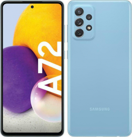 GALAXY A72 4G (128GB)DUAL Awesome Blue SM-A725FDS