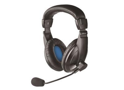Trust Quasar II - Ακουστικά - Μαύρο
