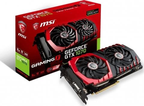 MSI GeForce GTX 1070 Gaming X 8G DDR5