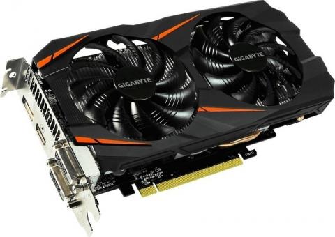Gigabyte GeForce GTX1060 WindForce OC 6GB (GV-N1060WF2OC-6GD)