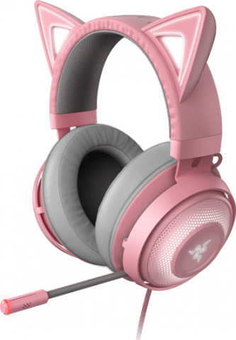 Razer Kraken Kitty - Chroma RGB USB Headset - THX Audio - Quartz [RZ04-02980200-R3M1]
