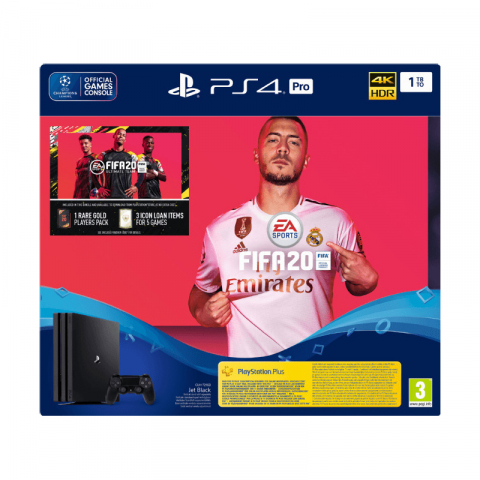 SONY PlayStation 4 Pro 1TB & FIFA 20 (PS719979005)