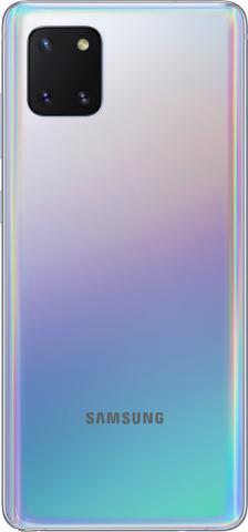 SAMSUNG GALAXY NOTE 10 LITE DUAL SIM 128GB-6GB RAM SM-N770FDS AURA GLOW SILVER