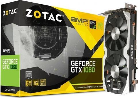 GeForce GTX1060 6GB AMP! Edition (ZT-P10600B-10M)