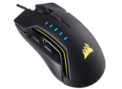 Corsair GLAIVE - Gaming Mouse - Μαύρο