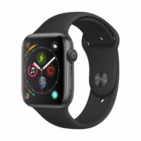 Watch Series 4 GPS Aluminium 44mm Space Grey Sport Band MU6D2FDA