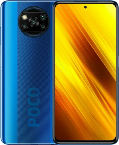 Xiaomi Poco X3 NFC (128GB-6GB) Cobalt Blue EU(M2007J20CG)