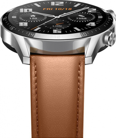 Smartwatch Huawei Watch GT 2 Classic 46mm Pebble Brown (55024317)