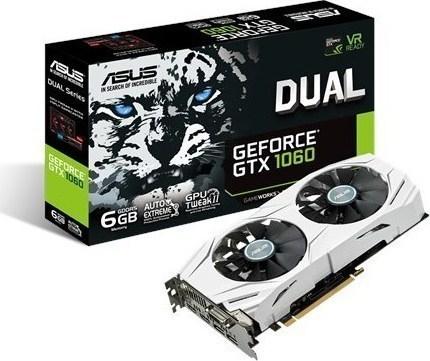 Asus GeForce GTX1060 6GB Dual (90YV09X4-M0NA00)