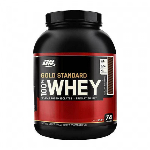 ΟΝ Gold Whey 2.27kg Extreme milk chocolate