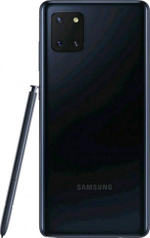 SAMSUNG GALAXY NOTE 10 LITE DUAL SIM 128GB-6GB RAM SM-N770FDS AURA BLACK