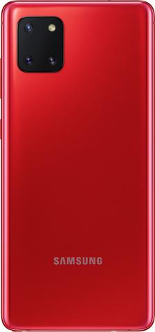 SAMSUNG GALAXY NOTE 10 LITE DUAL SIM 128GB-6GB RAM SM-N770FDS AURA RED