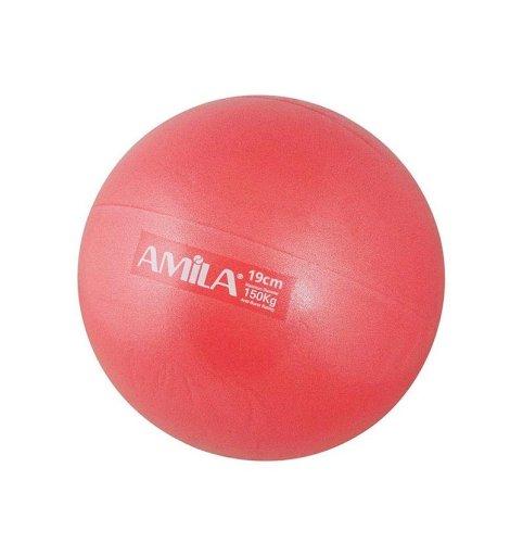 Μπάλα PILATES 19cm AMILA Κόκκινη
