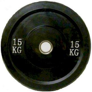ΟΛΥΜΠΙΑΚΟΙ ΔΙΣΚΟΙ BUMPER Φ50 CROSSFIT 15kgr